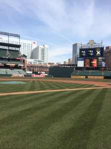Oriole Park is Ready for Opening Day