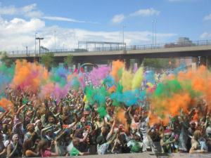 Colors for Color Run