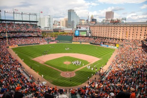 Visit Baltimore - Oriole Park at Camden Yards. daytime shot
